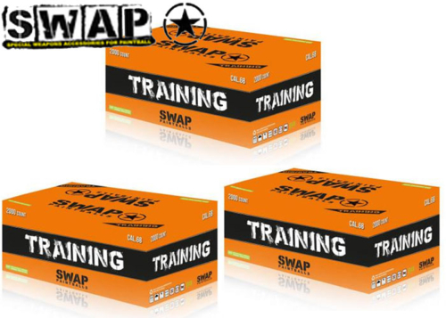 Lot de 3 cartons de 2000 billes SWAP Training