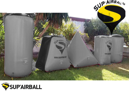 Sup'airball Training Kit 5 obstacles - Grey Black