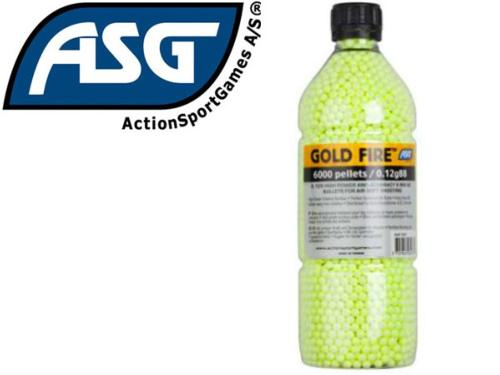 Billes Airsoft Goldfire 0.12g / 6000