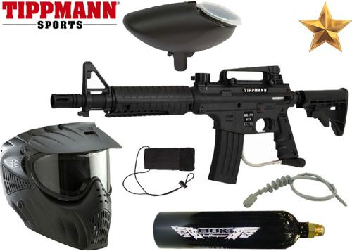 Pack Tippmann US Army Bravo One Tactical Elite E-grip Co2