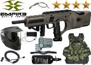 Battle Pack Empire BT D'Fender dark earth air comprimé + 500 billes offertes