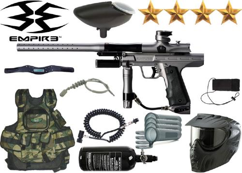 Battle Pack Empire Resurrection Autococker grey air comprimé + 500 billes offertes
