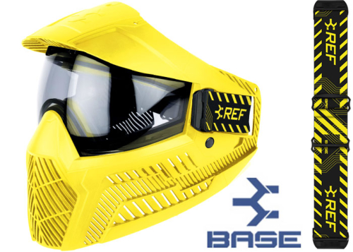 Masque Paintball Base GS-O thermal yellow (arbitrage)