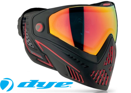 Dye I5 2.0 - Fire black red
