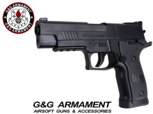 Réplique Airsoft G&G Armament 226 Co2