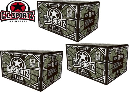 Lot de 3 cartons de 2000 billes billes GI Sportz Field