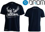 Tee-shirt Drom Icon blue - L