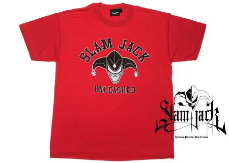 Tee-shirt Slam Jack Unleshead red - M