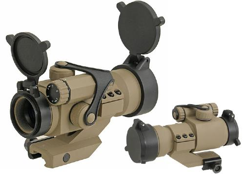 Red / green dot sight Aiming point US Army - Desert