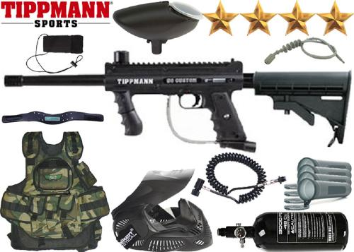 Battle Pack Tippmann M98 Platinium Series Yankee air comprimé