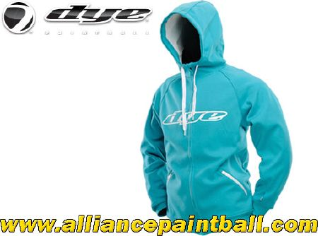 Sweat-shirt à capuche Dye Snow 2013 Aqua/white taille XXL