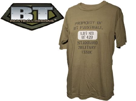 "Tee-shirt BT ""Property of BT-Paintball"" taille XL"