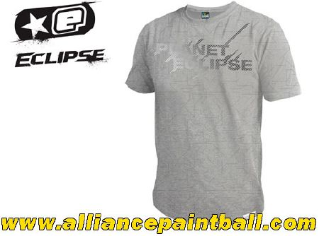 Tee-shirt Planet Eclipse Polarised grey taille M
