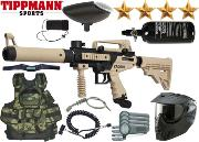 Battle Pack Tippmann Cronus Tactical black/tan air comprimé