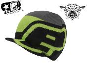 Planet Eclipse beanie Staple visor black/green