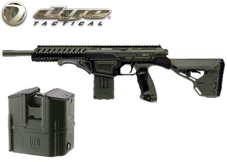 Dye Tactical DAM black olive + Rotor box