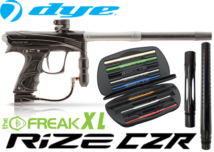 Dye Rize CZR Total Freak XL - black grey