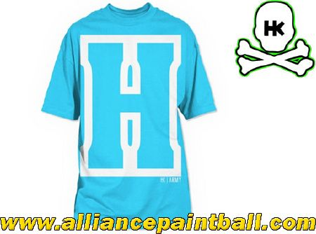 Tee-shirt HK Army Block Turquoise - S