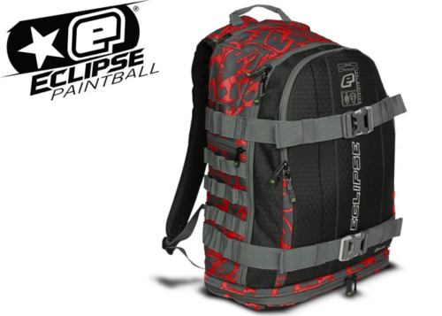 Planet Eclipse GX2 Gravel bag - fighter red