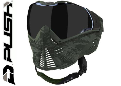 Masque Paintball Push Unite - olive camo