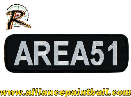 Patch grande taille Area 51