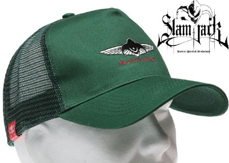 Casquette Slam Jack Trucker green