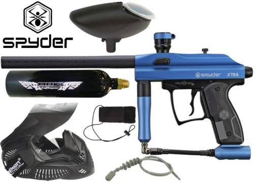 Pack Spyder Xtra matte blue Co2