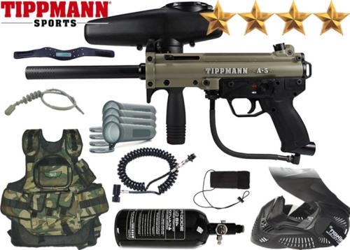 Battle Pack Tippmann A5 Dark Earth air comprimé