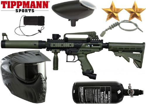 Pack Tippmann Cronus Tactical black/olive air comprimé