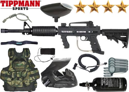 Battle Pack Tippmann M98 Platinium Series M16 air comprimé