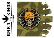 Bunker Kings Knuckle Butt tank grip - Royal Forces