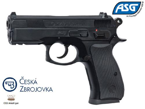 Réplique Airsoft CZ 75D Compact Co2