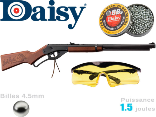 Carabine à plombs Daisy Model 105 Red Ryder Fun Kit 4.5mm 1.5j