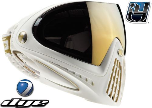 Masque DYE I4 Edition Limitée White Gold