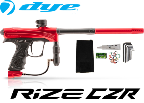 Dye Rize CZR - red black