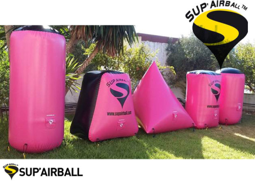 Sup'airball Training Kit 5 obstacles - Pink Black