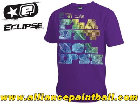 Tee-shirt Planet Eclipse Bold purple