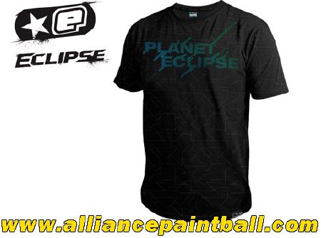 Tee-shirt Planet Eclipse Polarised black