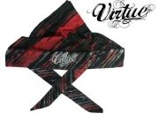 Headwrap Virtue padded - Graphic red/white