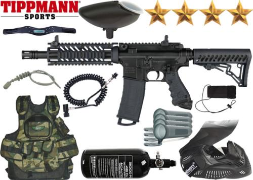 Battle Pack Tippmann TMC black air comprimé
