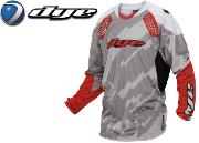 Jersey Dye C14 Airstrike grey red L/XL