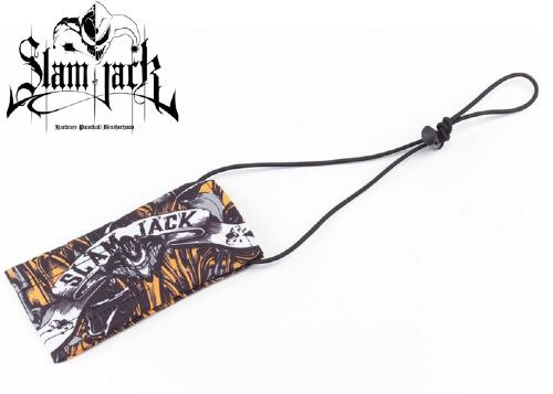 Slam Jack barrel cover Black Roses orange