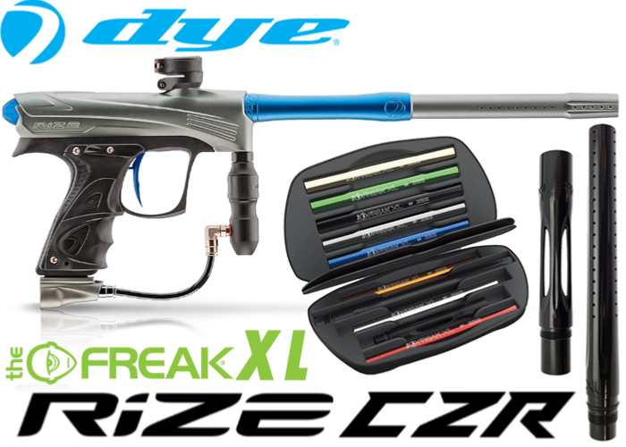 Dye Rize CZR Total Freak XL - grey blue