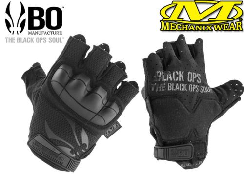 Mitaines Mechanix / B.O Manufacture MTO Fighter black - S