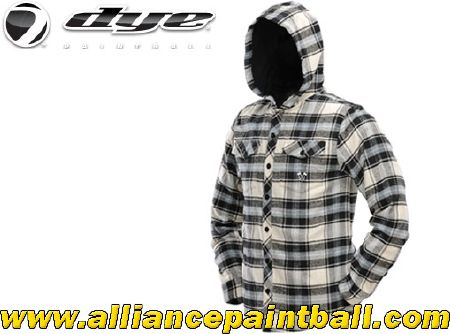 Chemise Dye 2013 Hooded Flannel blue/tan taille XL