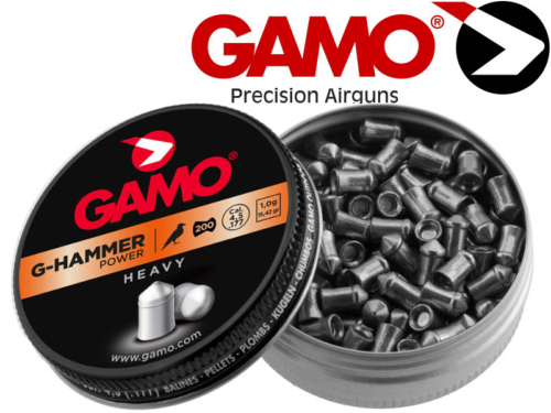 500 plombs Gamo G-Hammer Power cal 4.5 tête pointue