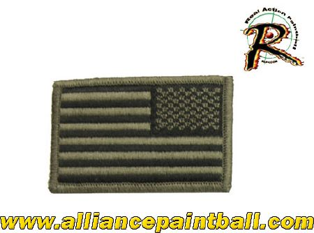 Patch American flag reverse