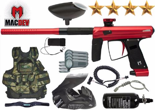 Battle Pack MacDev Drone 2S red air comprimé