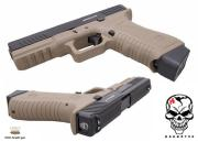 Réplique airsoft S17 ACP Tan GBB Co2