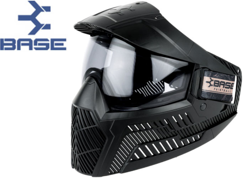 Masque Paintball Base GS-F-CC thermal black